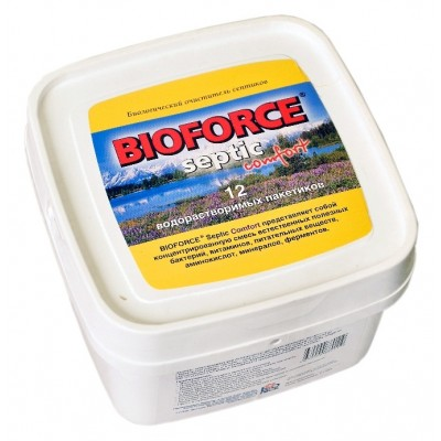 Биопрепарат BioForce Septic Comfort (12x56г.) 672 г
