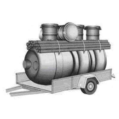 Комплект оборудования Uponor Sako с септиком 4 Куб/м