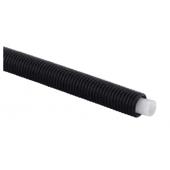 Труба Uponor PEX 16x2,2 в черном кожухе 25/20, (1 метр), арт. 1012860