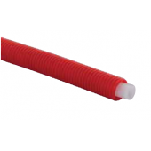 Труба Uponor evalPEX Q/E 16x2,0 в красном кожухе 25/20 (1 метр), арт. 1008388