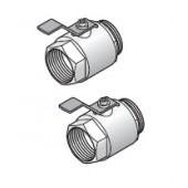 """Кран шаровой 1 1/2"""" для промышленного коллектора Uponor, арт. 1030135"""