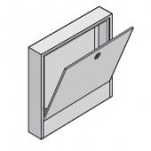 Коллекторный шкаф Uponor накладной UFH1, ширина 555 мм, цвет белый, арт. 1046996