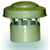 WAVIN * Optima ПВХ дефлектор вентиляционной трубы 50 мм серый, арт. 24326903