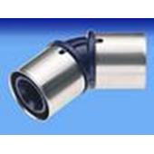 WAVIN * Future K1 отопление/водоснабжение ПФСУ колено 25x45°, арт. 25512120