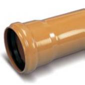 WAVIN * ПВХ наружная канализация труба раструбная ML SN4 110х3,0 (0,5м), арт. 22746005