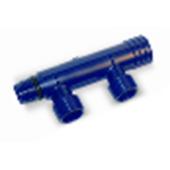 """WAVIN * Future K1 отопление/водоснабжение ПФСУ коллектор двухотводный 3/4"""", арт. 25506622"""