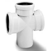 WAVIN *Asto внутренняя канализация крестовина одноплоскостная 110х110х110х87°, арт. 24146590