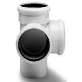 WAVIN *Asto внутренняя канализация крестовина двухплоскостная 110х110х110х87°, арт. 24146615