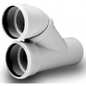 WAVIN *Asto внутренняя канализация тройник параллельный 110х110 мм, арт. 24146625