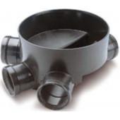 WAVIN *Колодец D315 мм ПП днище тип II соединительное 110 мм (с уплотн. кольцом), арт. 22970011